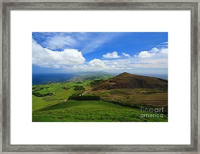 Sao Miguel - Azores Framed Print by Gaspar Avila