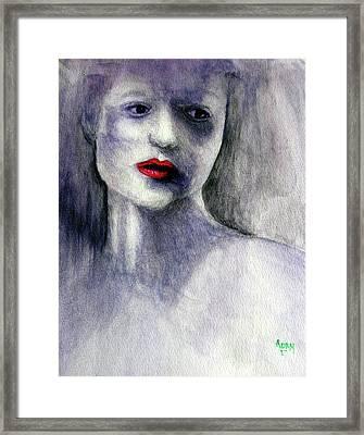 Sara Framed Print
