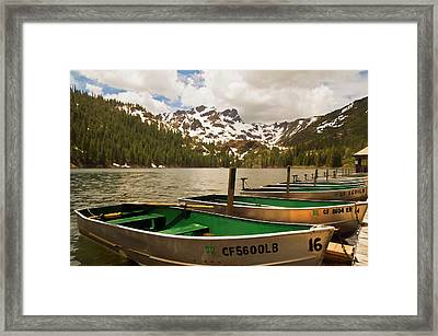 Sardine Lake Framed Print