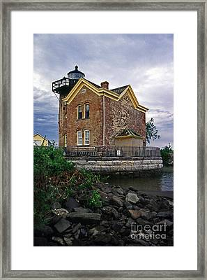 Saugerties Lighthouse Ny Framed Print