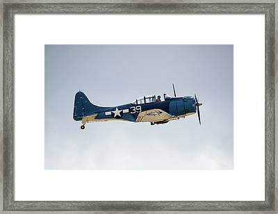 Sbd Dauntless Framed Print by Brian Knott Photography