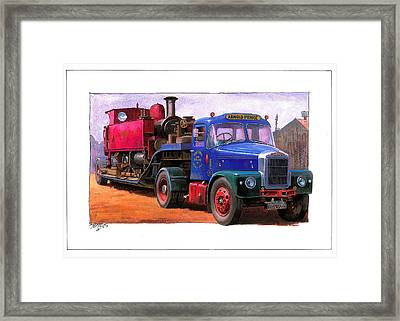 Scammell Highwayman. Framed Print