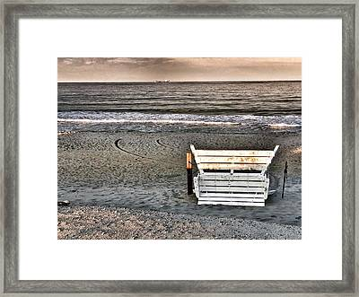 Scenes From Ortley  Framed Print by Vincent DeLucia