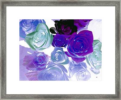 Scent By The Dozen Framed Print
