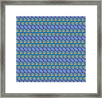 Science Fair Toys Framed Print by Modern Metro Patterns and Textiles