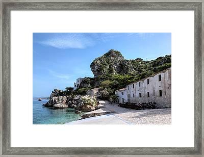 Scopello - Sicily Framed Print by Joana Kruse