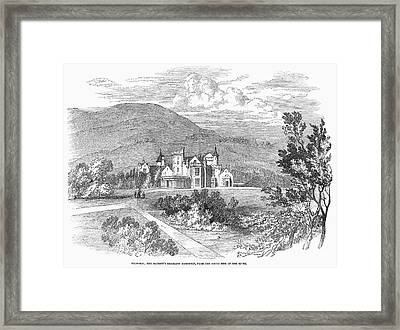 Scotland: Balmoral Castle Framed Print by Granger