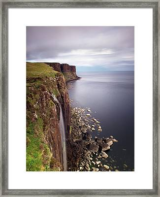 Scotland Kilt Rock Framed Print