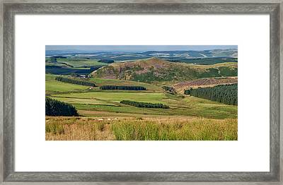 Scotland View From The English Borders Framed Print