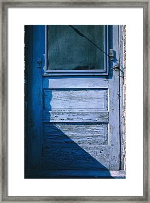 Screen Door Framed Print by Thomas Firak