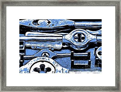 Screw Taps - Hand Tools Framed Print
