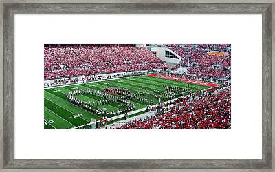 Script Ohio Framed Print by Peter  McIntosh