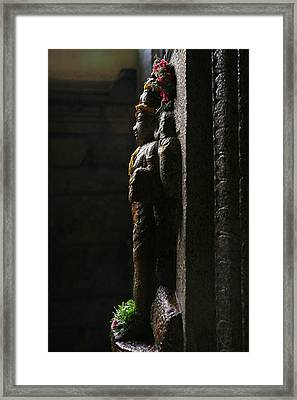 Sculpture Framed Print by Deepak Pawar