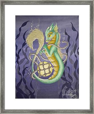 Sea Dragon II Framed Print