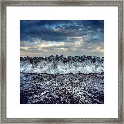 Sea Energy Framed Print