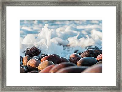 Sea As Art... Framed Print