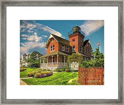 Sea Girt Lighthouse Framed Print