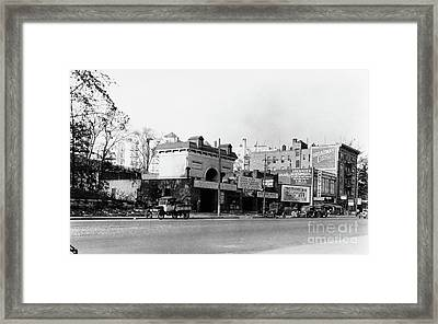 Framed Print featuring the photograph Seaman Drake Arch  by Cole Thompson