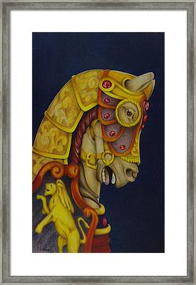 Searching For The Brass Ring No.10 Framed Print