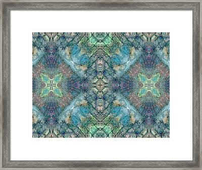 Seascape II Framed Print by Maria Watt