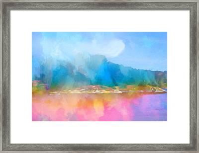 Seascape Imagination Framed Print by Lutz Baar