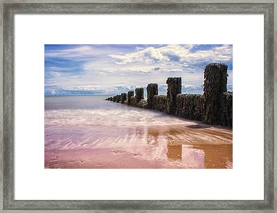 Seascape Framed Print by Martin Newman