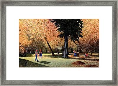 Season Of Abundance And Joy Framed Print by Neil Woodward