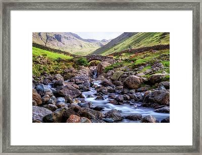 Seathwaith - Lake District Framed Print by Joana Kruse