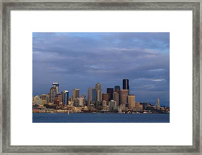 Seattle Framed Print by Evgeny Vasenev