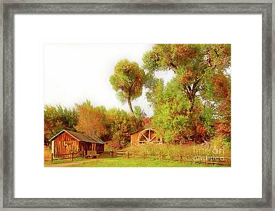 Sedona Az Framed Print