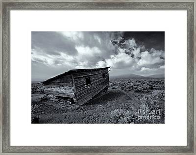 Seen Better Days Framed Print by Mike Dawson
