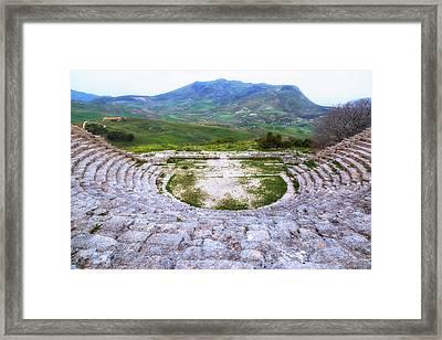 Segesta - Sicily Framed Print