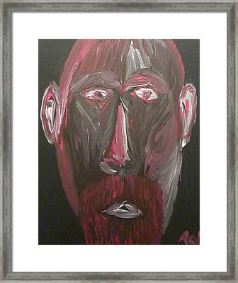 Self Portrait Framed Print by Joshua Redman