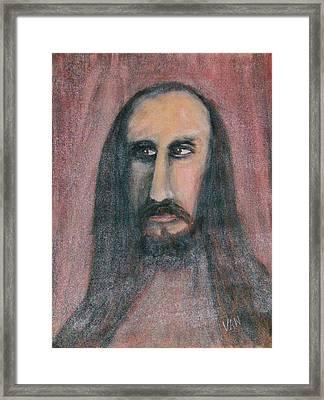 Self Portrait Framed Print by Van Winslow