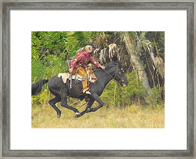 Seminole Indian Warrior Framed Print