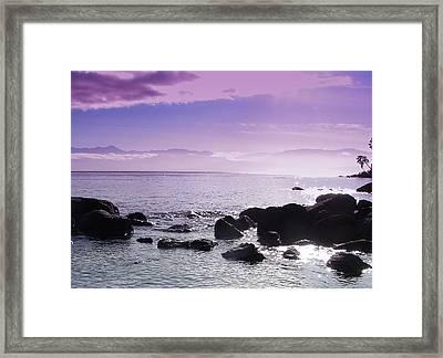 Serenity Framed Print by Chrissy Gibbs
