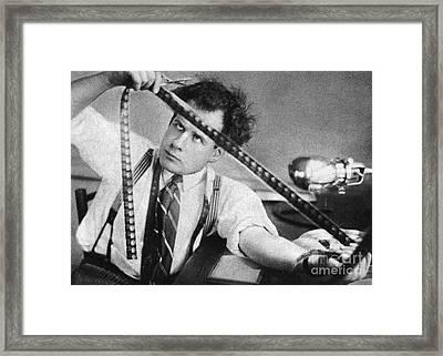 Sergei Eisenstein (1898-1948) Framed Print