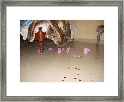 Sexual Violence Framed Print