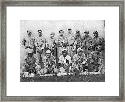 Sf Seals Baseball Team Framed Print