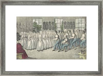 Shakers Near Lebanon Framed Print