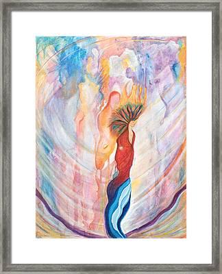 Shamans Dream Framed Print by Leti C Stiles