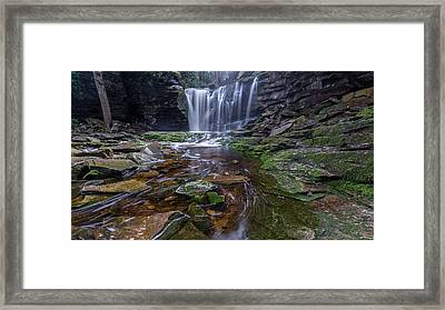 Shays Run Framed Print