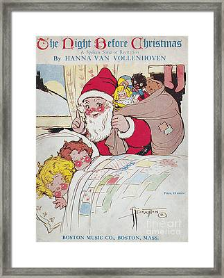 Sheet Music Cover, 1911 Framed Print by Granger