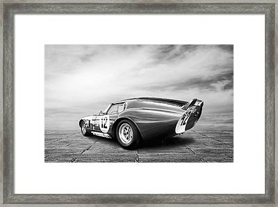 Shelby Daytona Coupe Framed Print by Peter Chilelli