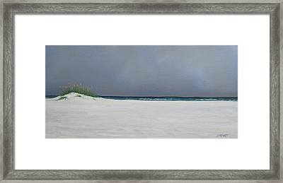 Shell Island Framed Print by Jan Prewett