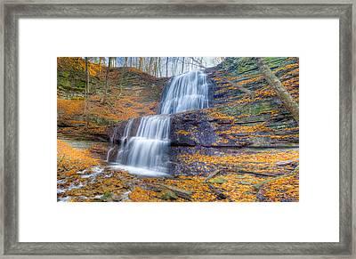 Sherman Falls Framed Print