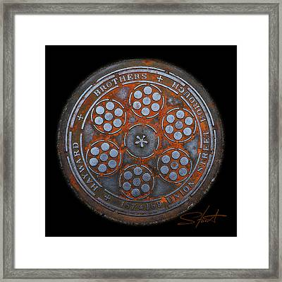 Shield Framed Print