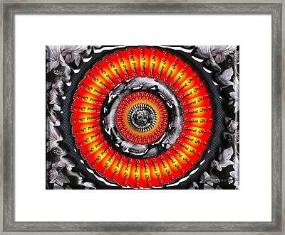 Shine On It Framed Print by Robert Orinski