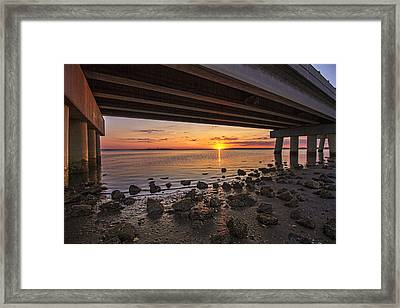 Shinnecock Sunset Framed Print