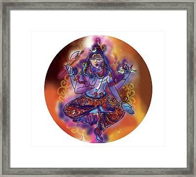 Shiva Dhyan Framed Print